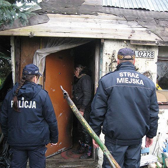 Policjanci w trosce o bezdomnych