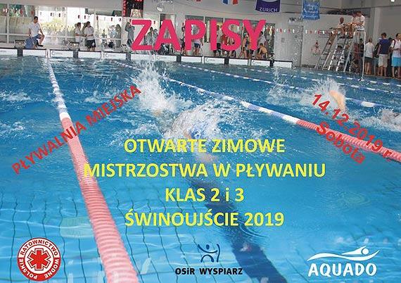 Otwarte Zimowe Mistrzostwa w Pływaniu klas 2 i 3 Świnoujście 2019