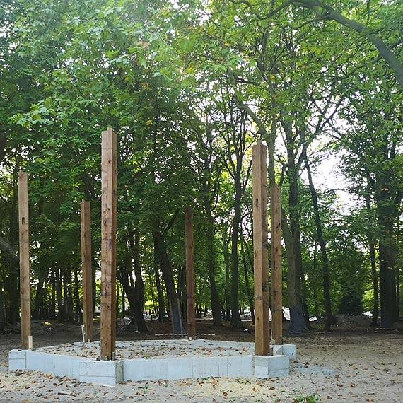 W Parku Zdrojowym powstaje nowa atrakcja