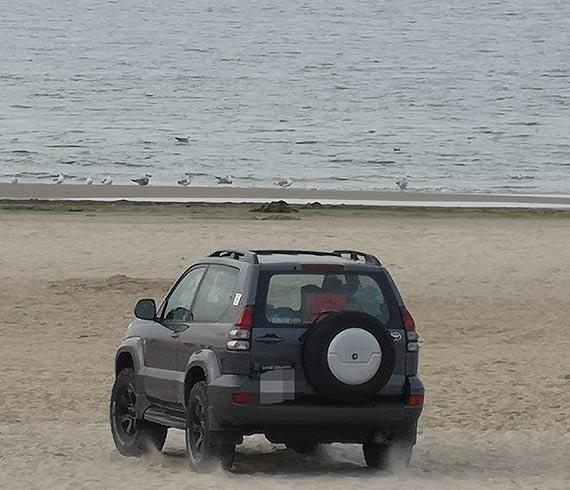 Czytelnik: Czy na plaży powinny stanąć znaki drogowe?
